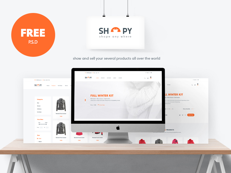 Shopy-Freebie-Ecomerce-PSD-Template