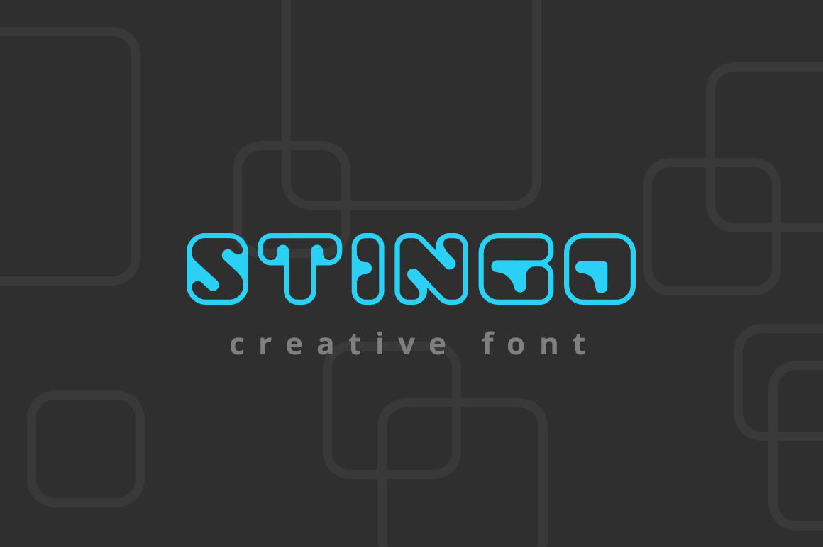 Stingo-Digital-Font