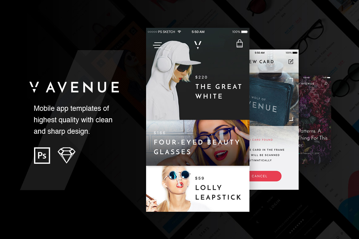 V-Avenue-Mobile-UI-Kit