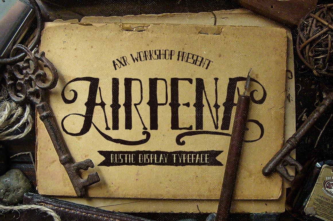 airpena-free-font