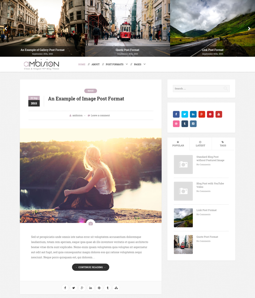 ambision-free-blog-wordpress-theme