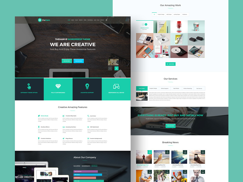 creative-landing-page-template-freebie