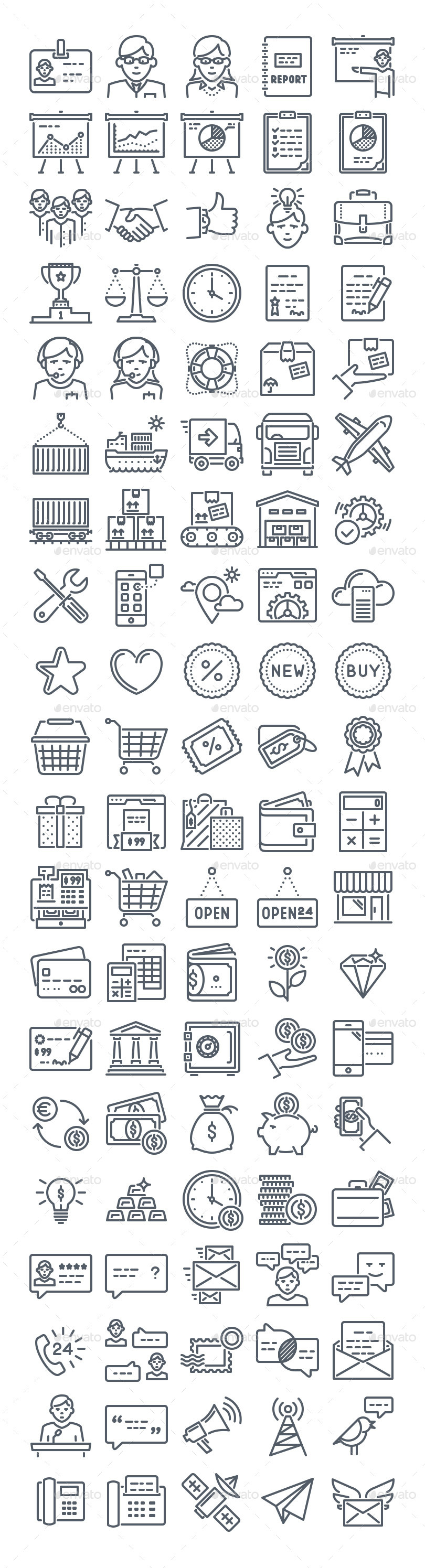 ecomerce-line-icons