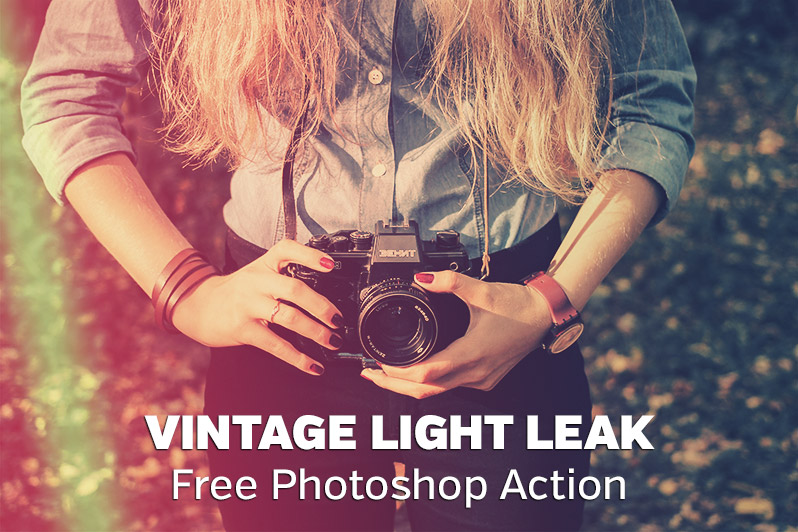 free-vintage-light-leak-photoshop-action