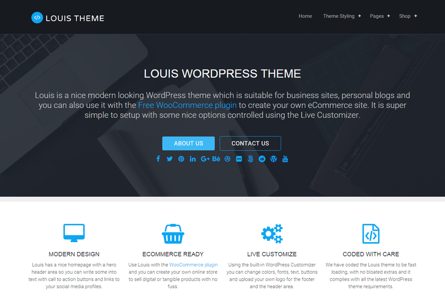 louis-free-wordpress-theme