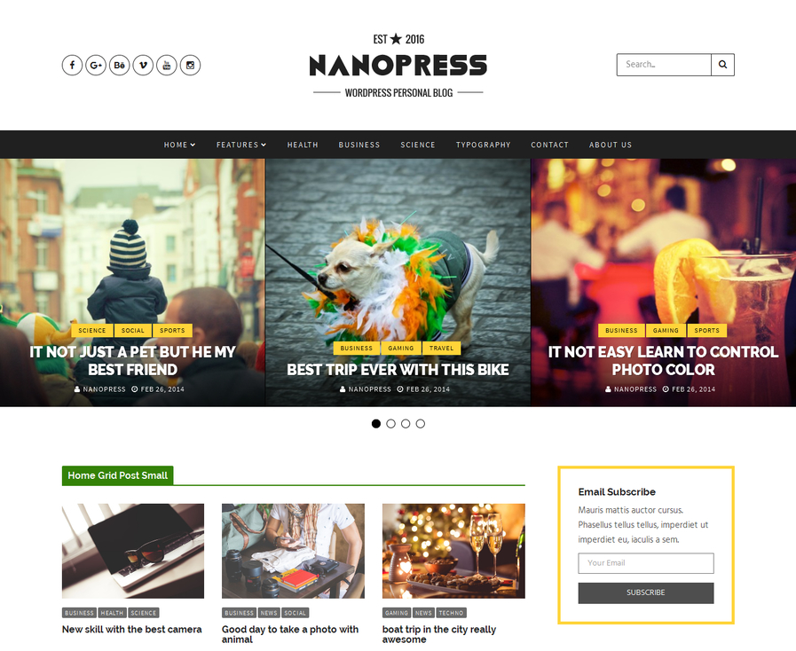 nanopress-wordpress-responsive-blog-magazine-theme