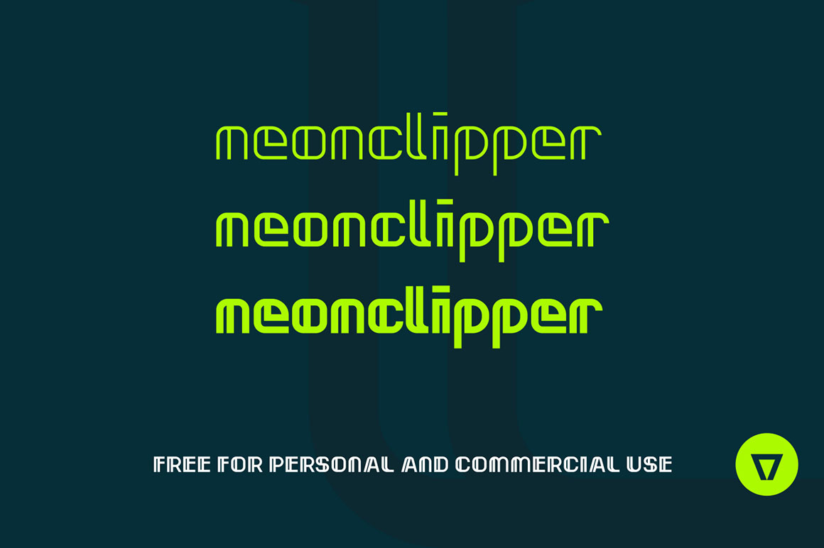 neonclipper-3-free-fonts