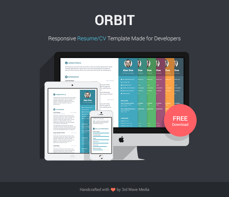 orbit-free-resume-cv-template-for-developers