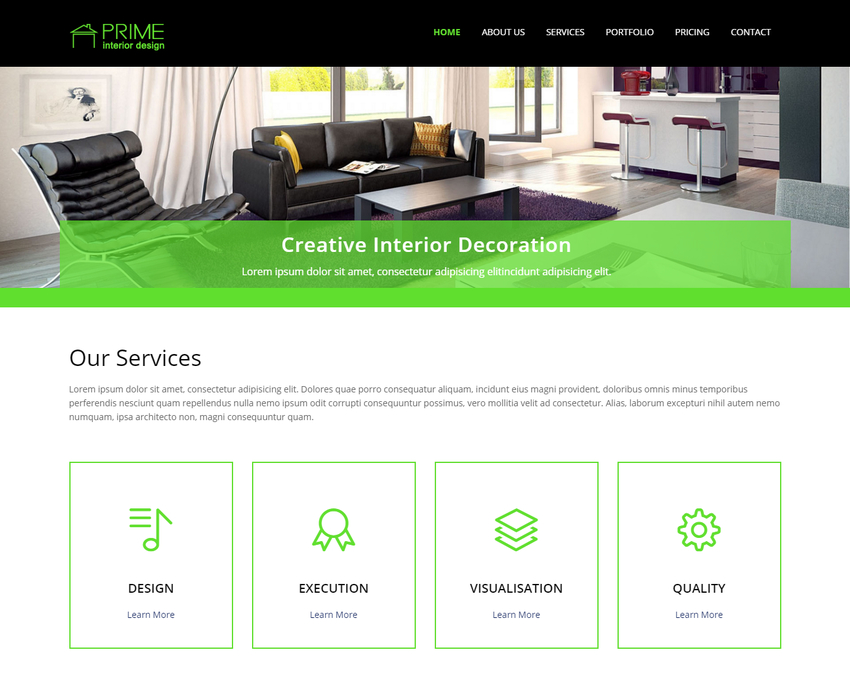 Latest Html5 Website Templates 3
