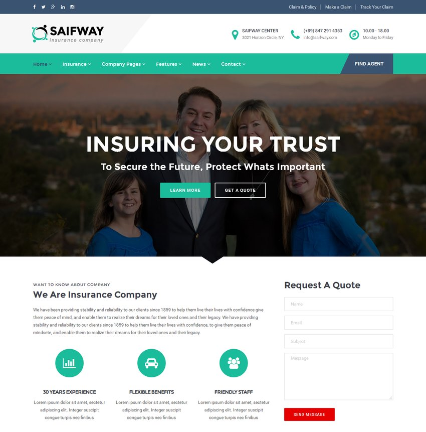 saifway-insurance-agency-html5-template-1