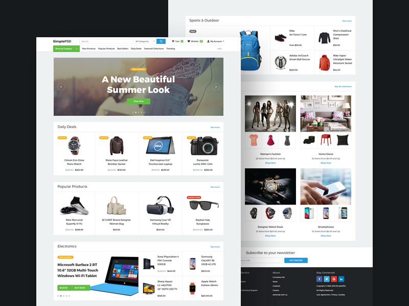 simple-ecommerce-template