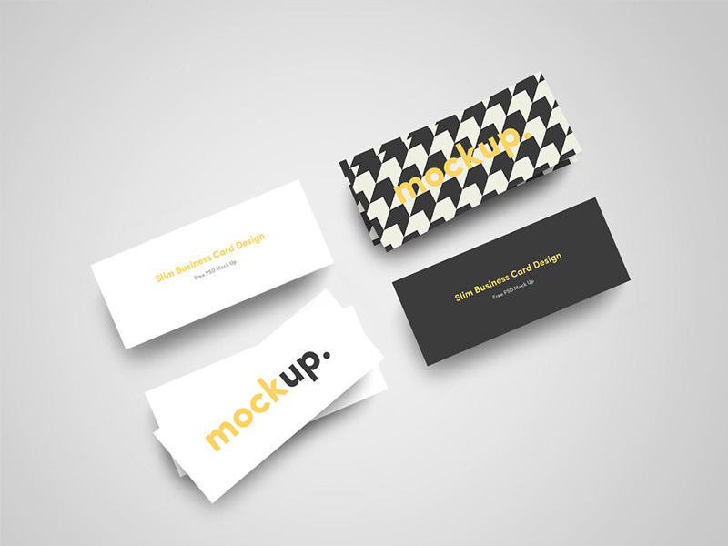 slim-business-card-mockup