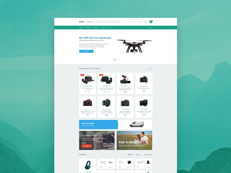 zelvit-website-template-freebie