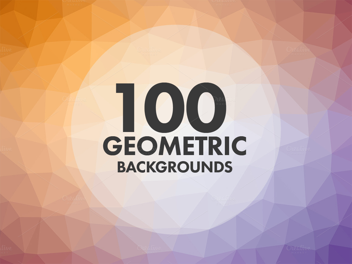 100-Geometric-Backgrounds