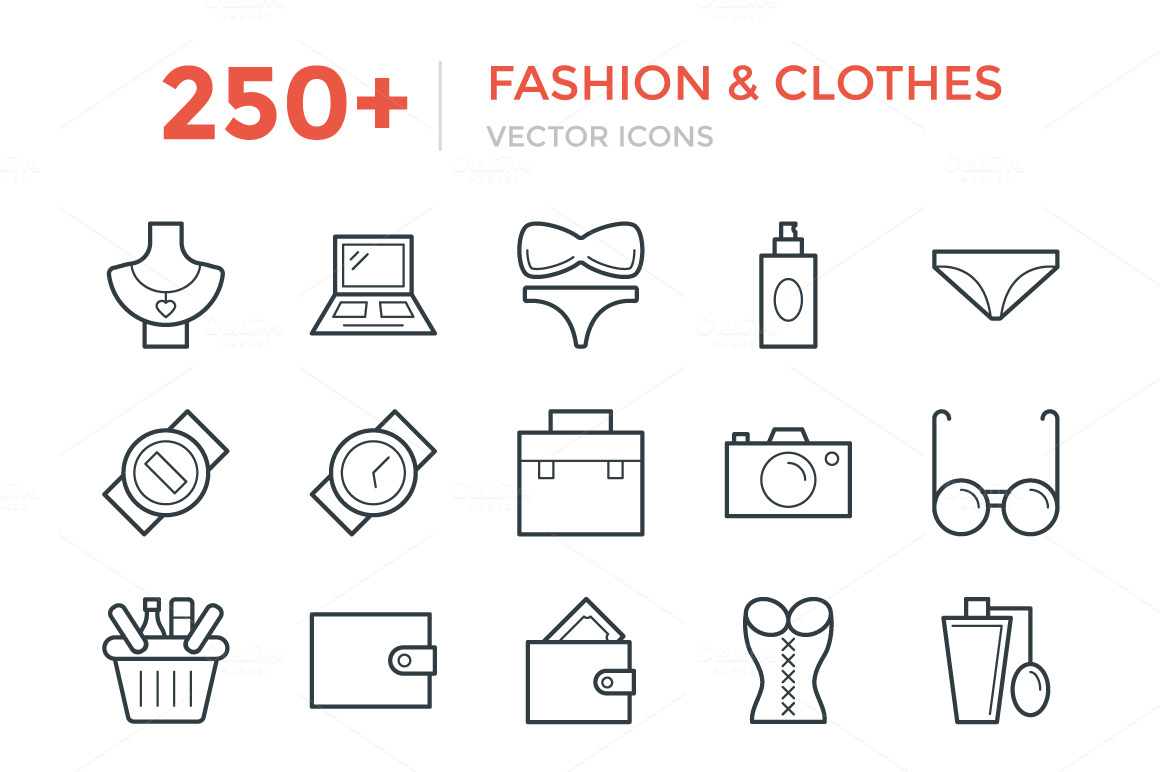 250-Fashion-and-Clothes-Icons