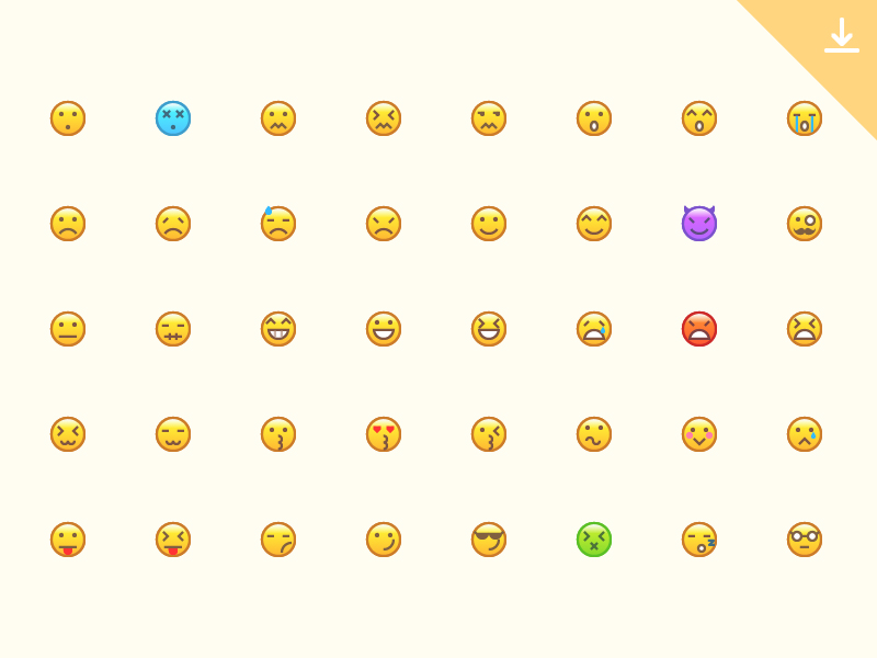 40-Emotion-Icons