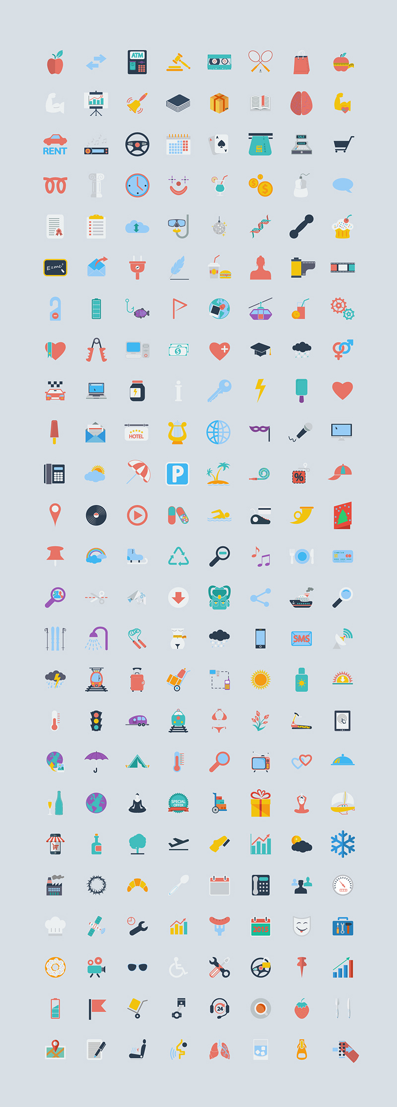 400-Free-Icons-of-the-World