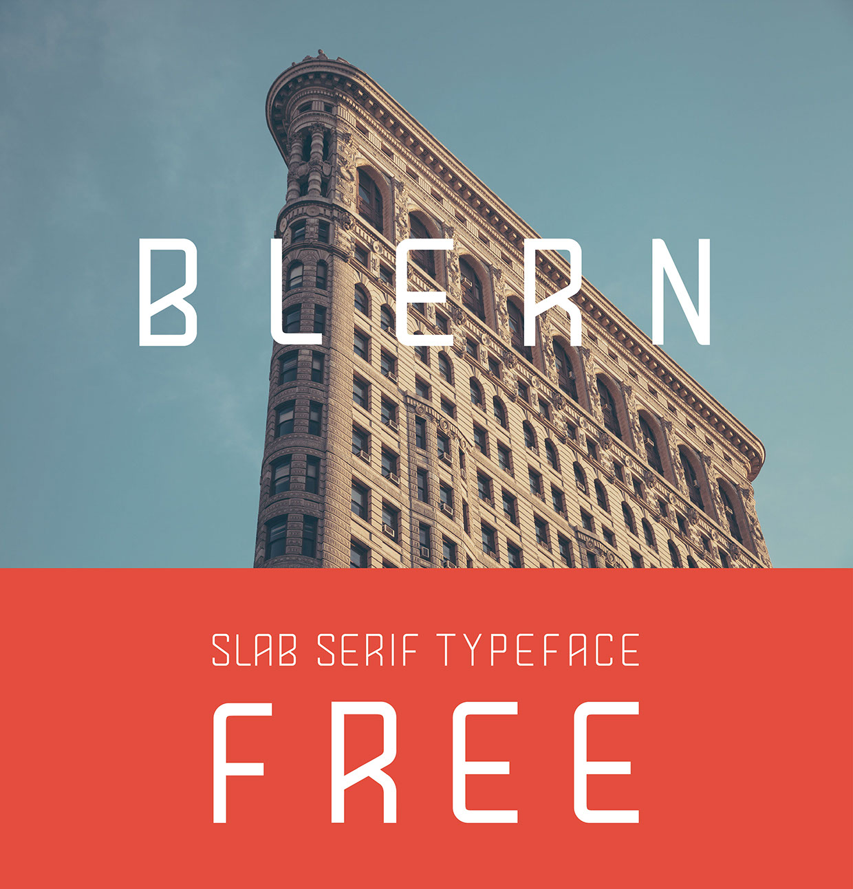 Blern-Free-Typeface