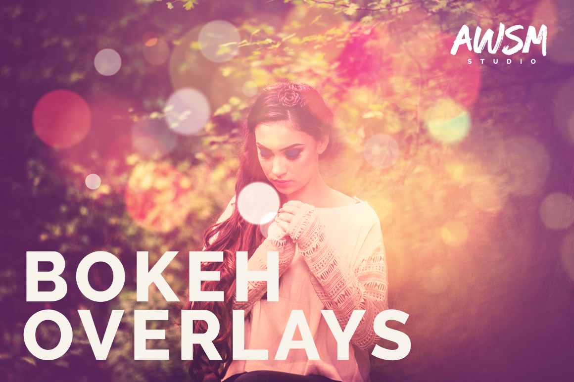 Bokeh-Photo-Overlays