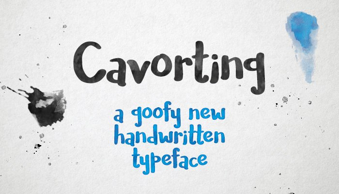 Cavorting-Free-Font