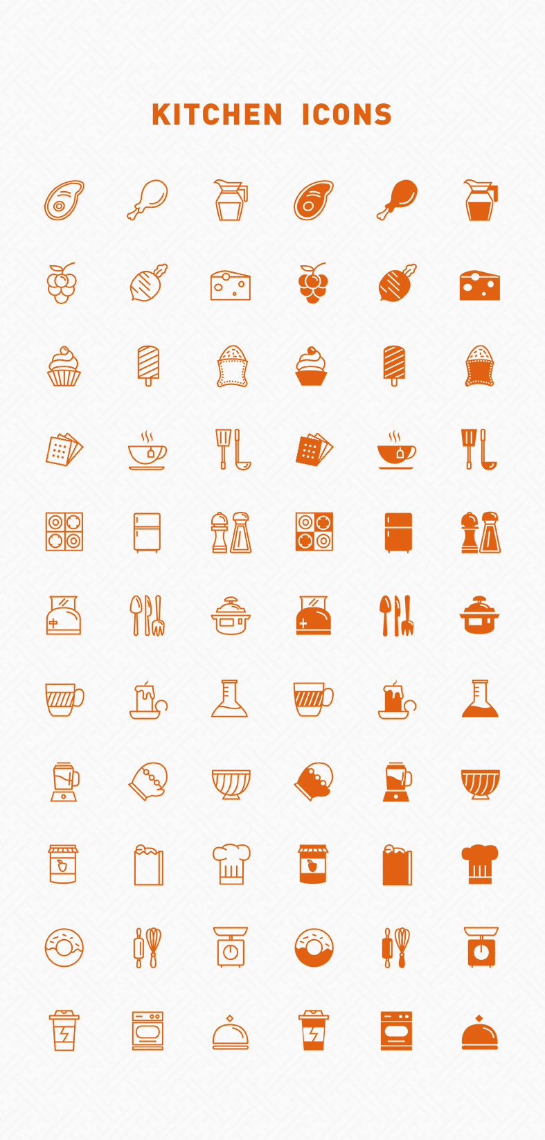 Free-Line-Filled-Kitchen-Icons
