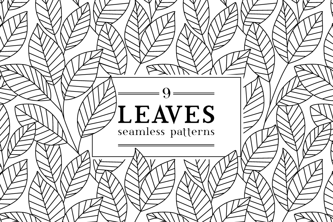 Leaves-seamless-pattern