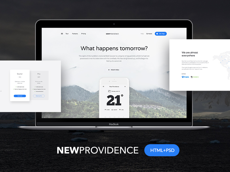 New-Providence-HTML-Template