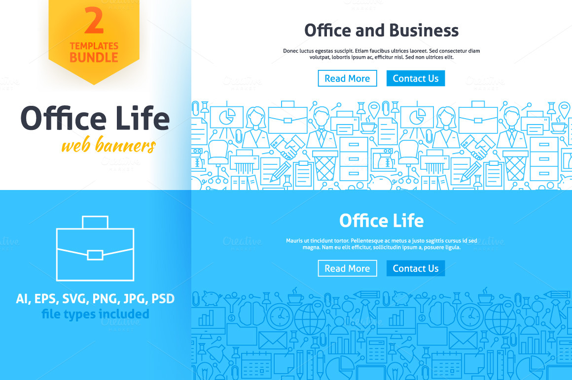 Office-Life-Line-Web-Banners