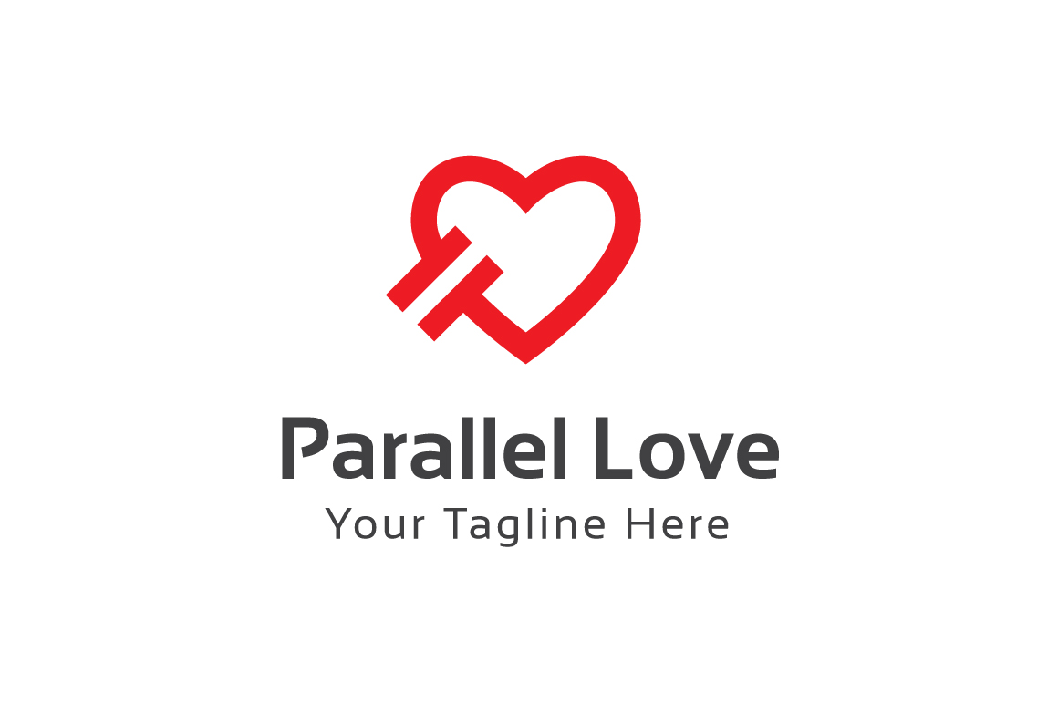 Parallel-Love-Logo-Template