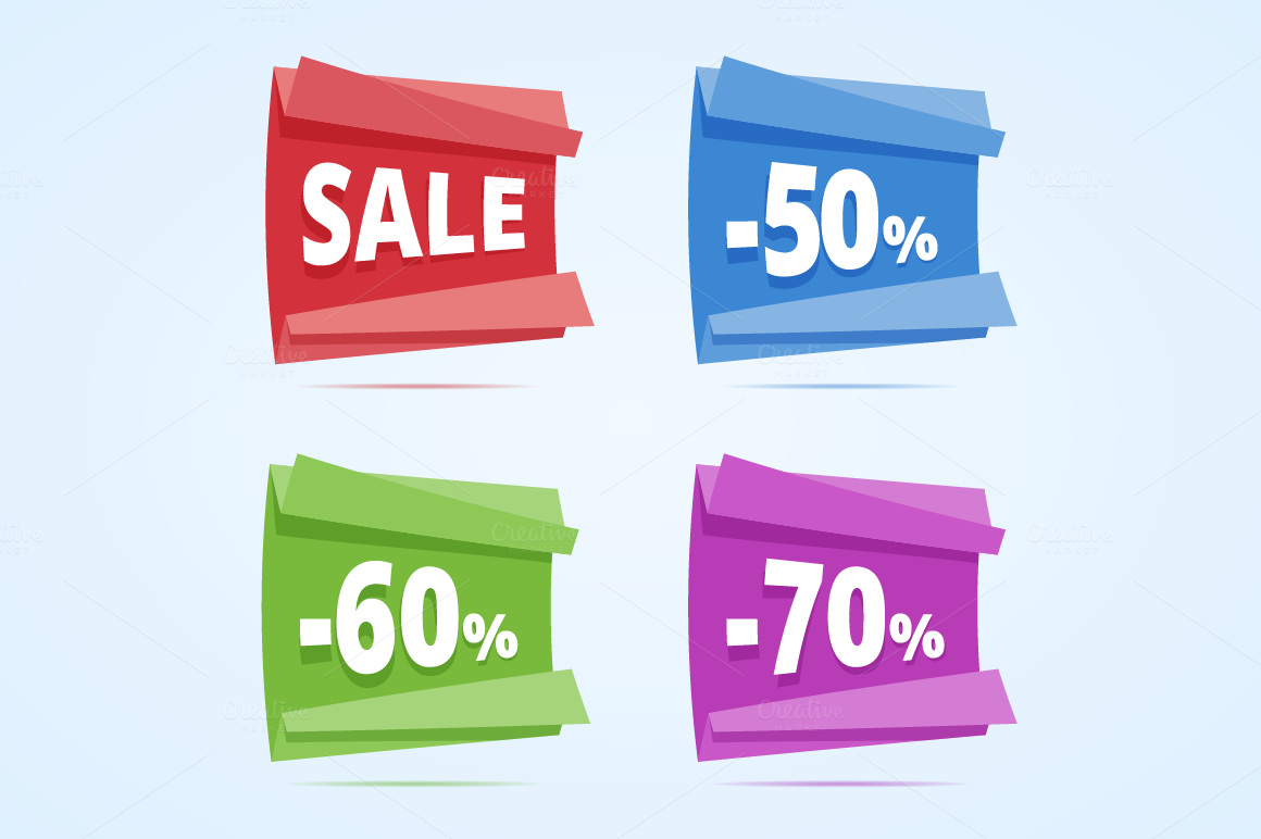 Sale-banners