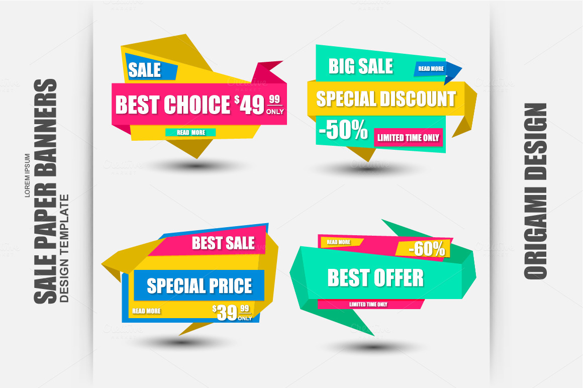 Set-of-Sale-Paper-Banners