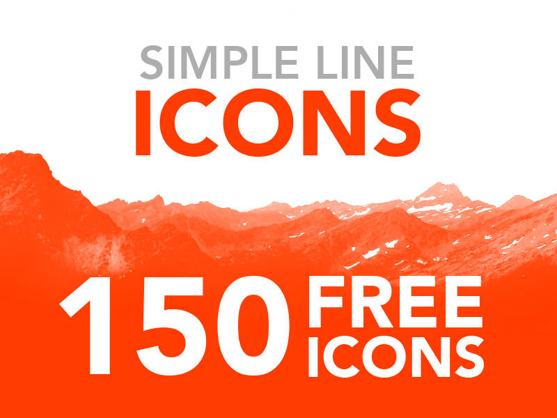 Simple-Line-Icons-FOR-FREE