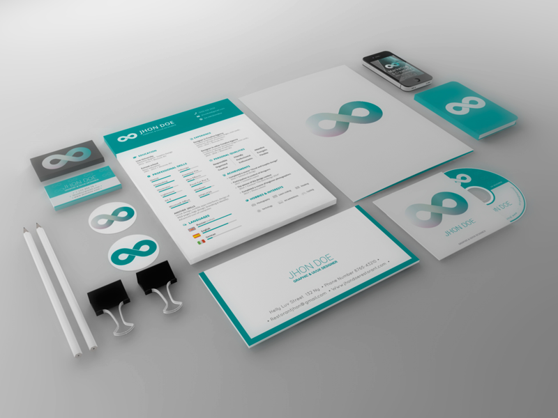 Teal-Brand-Identity-Template