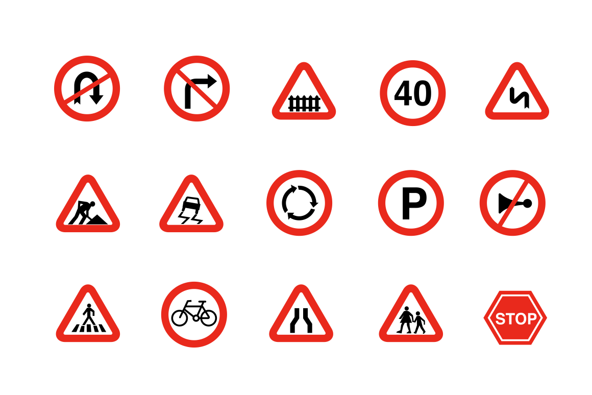Traffic-and-Road-Signs