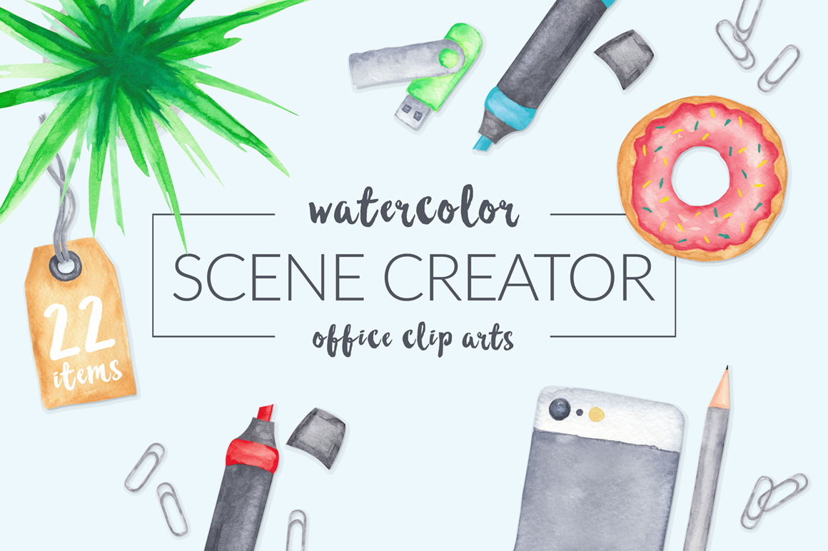 Watercolor-Scene-Creator