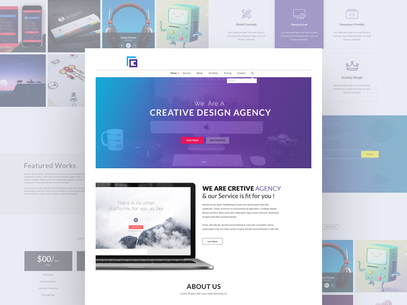 creative-agency-website-freebie