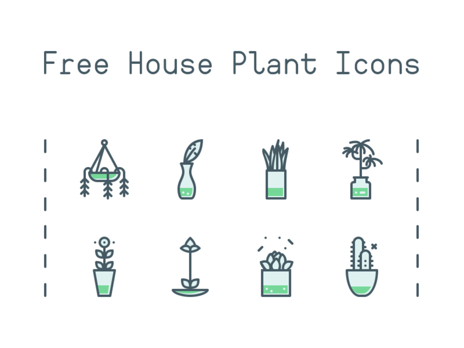 house-plant-icons