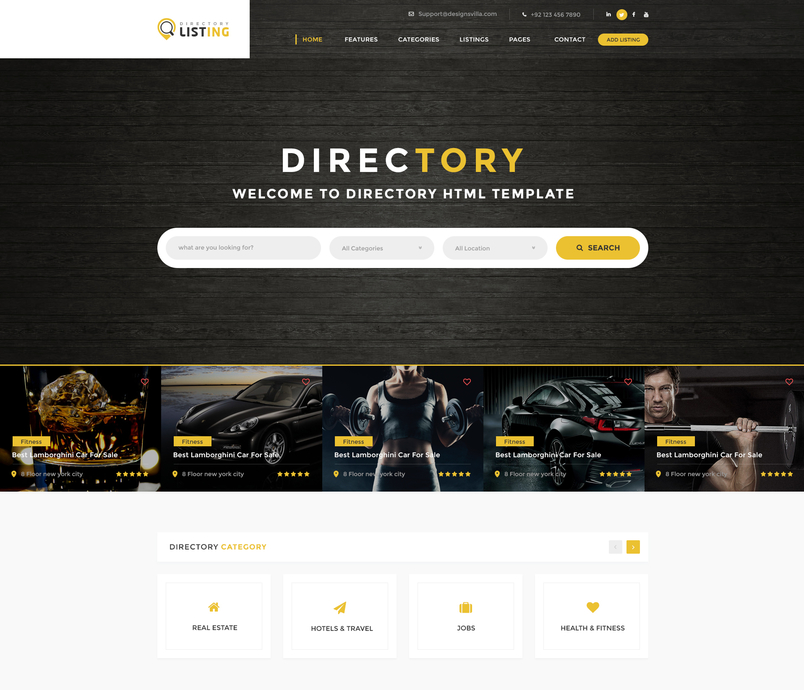 listing-directory-psd-template-1