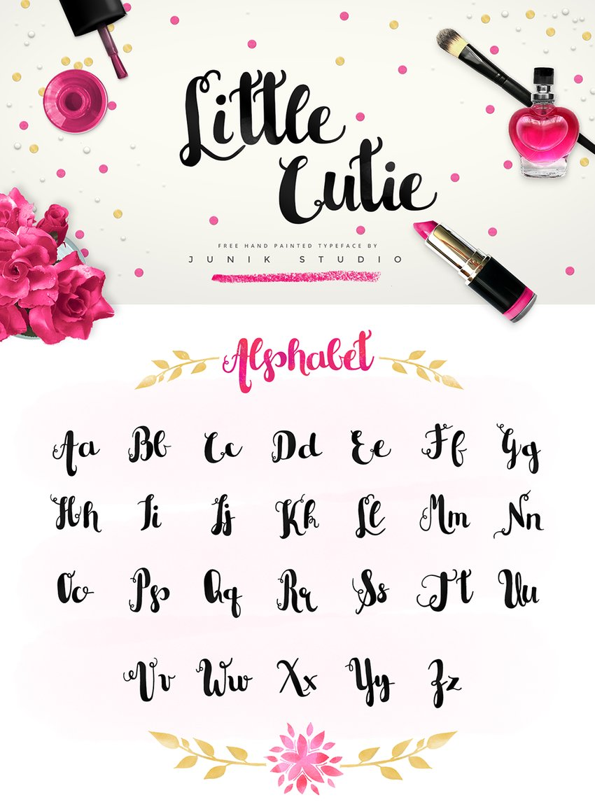 little-cutie-free-hand-painted-typeface-2