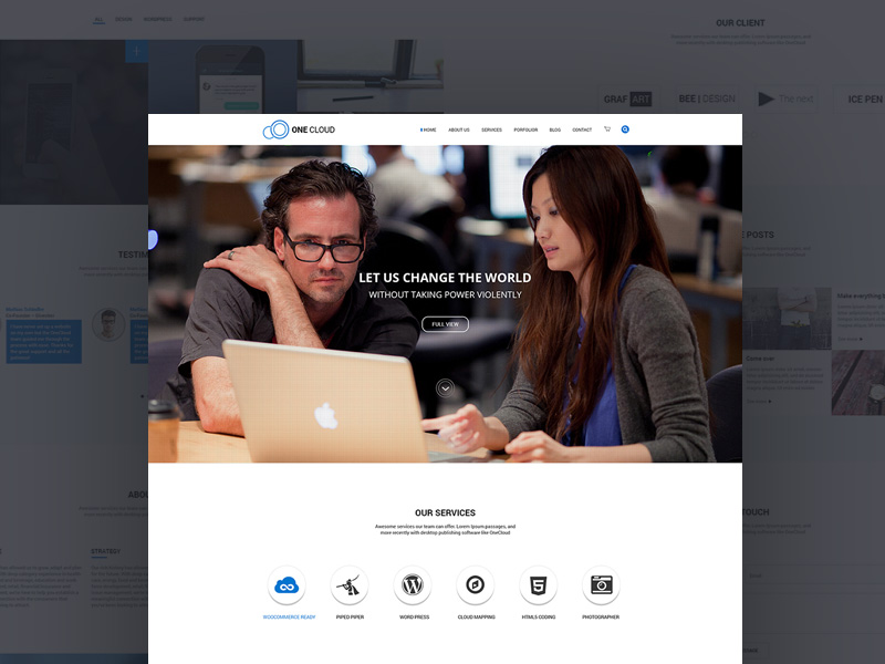 onecloud-website-template-freebie