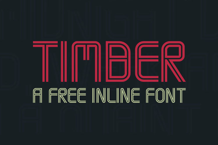 timber-inline-font