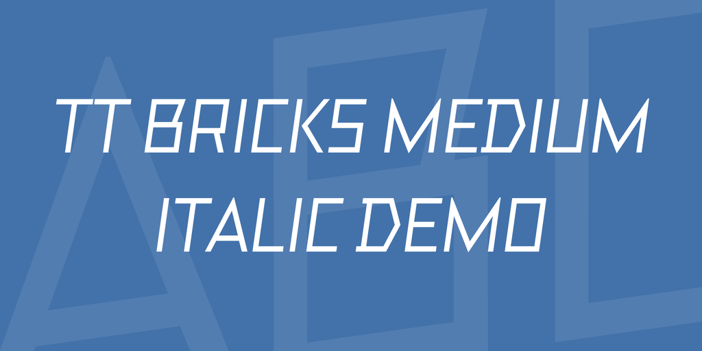 tt-bricks-medium-italic-demo-font