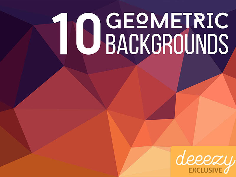 10-FREE-Geometric-Backgrounds