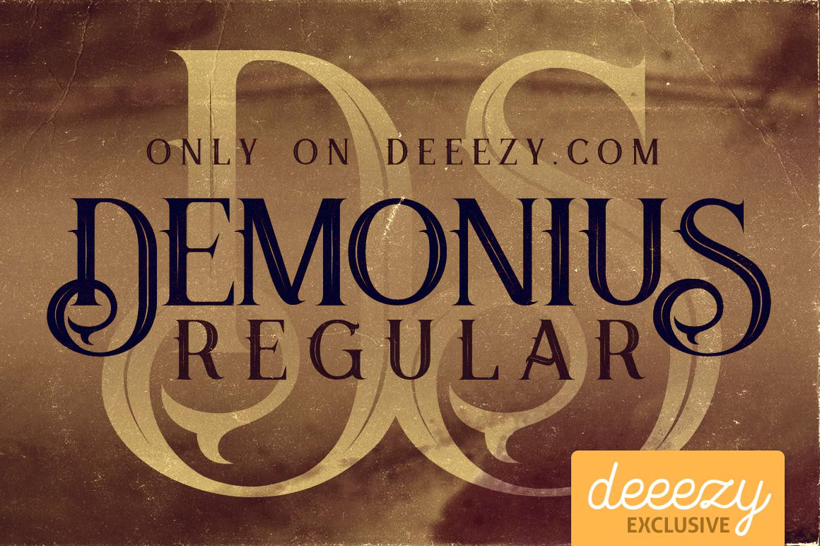 Demonius-Regular-Free-Font