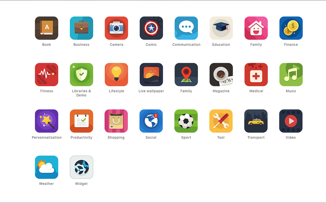 Free-Appstore-Category-Icons
