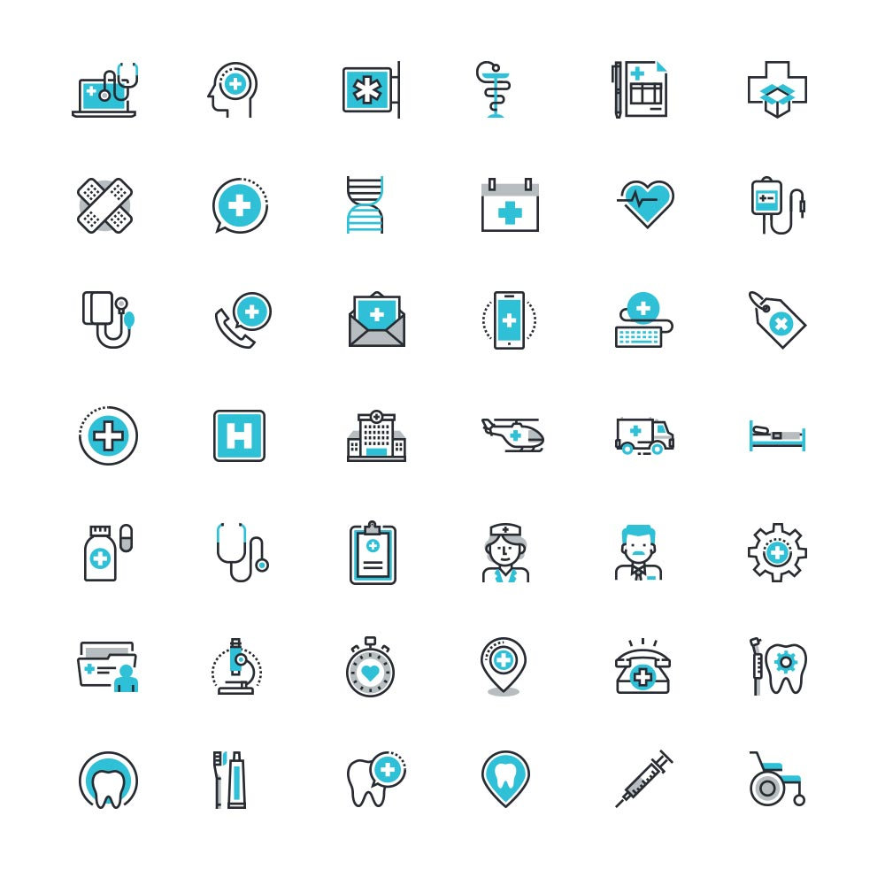 Freebie-Healthcare-And-Medicine-Icon-Set-Free-Psd