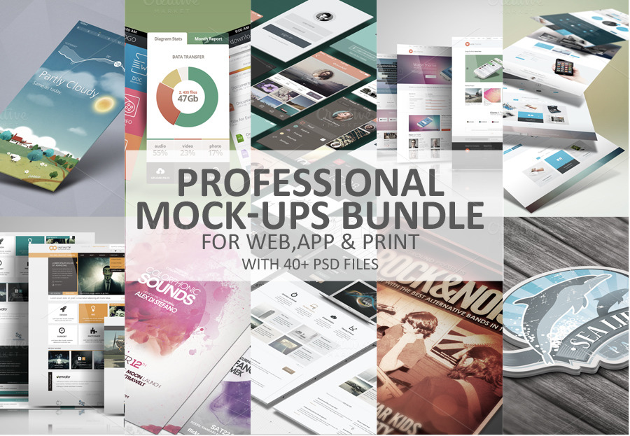 Professional-Mock-Ups-Bundle