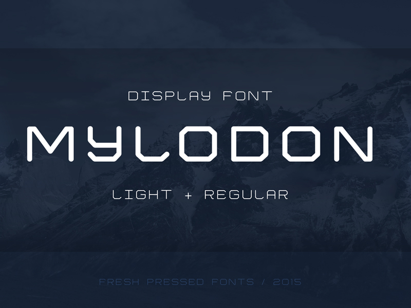 The-FREE-Mylodon-Font