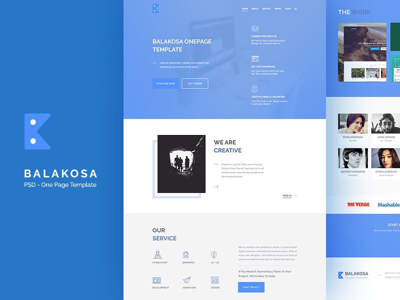 balakosa-one-page-template-freebie