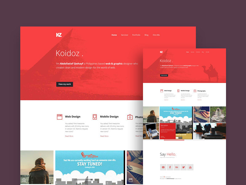 koidoz-website-template-freebie